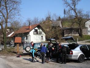 Photo: Početak ture je u selu Šutna (blizu mjesta Podbočje na rijeci Krki)
