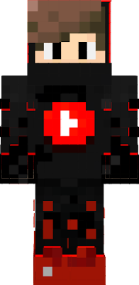 Minecraft Skin (mit YouTube-Logo)