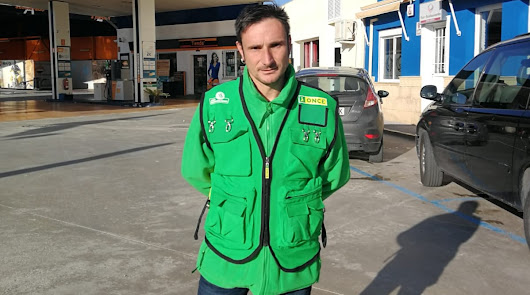 El vendedor de la ONCE Francisco Javier Uclés Orta ha llevado la suerte a Olula.