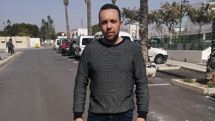 Juan Pedro Gallego es padre de familia y trabaja en el sector del mármol.