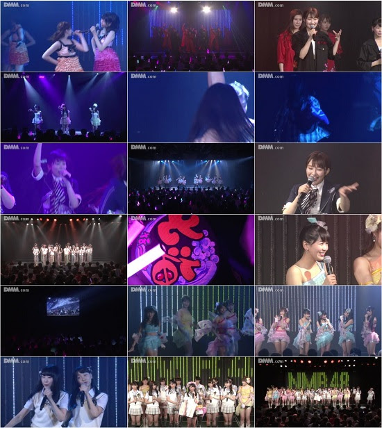 (LIVE)(720p) NMB48 チームM「アイドルの夜明け」公演 西仲七海 卒業公演 170622