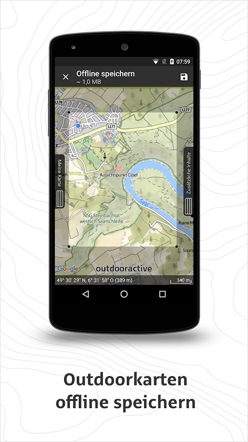 Outdooractive Premium – Screenshot