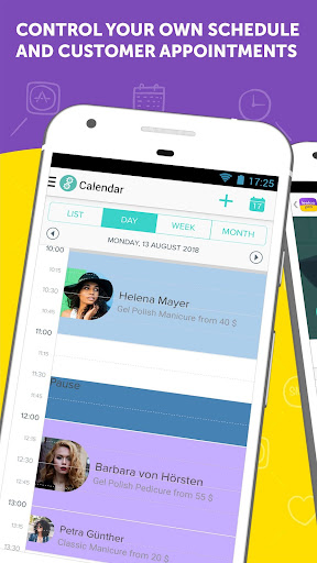 Leeloo: Appointment Scheduler & SMS text reminder 2.22.18 screenshots 1