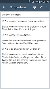 ClevNote - Notizen, Checkliste Screenshot