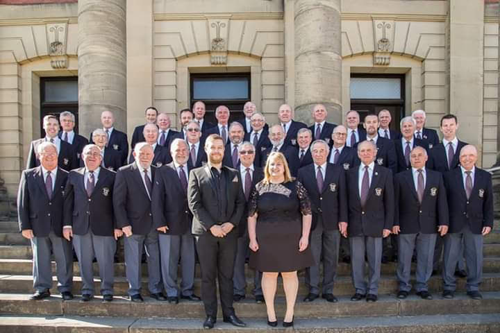 Male voice choir to host a concert in Newtown