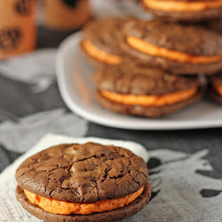 Brownie Sandwich Cookies