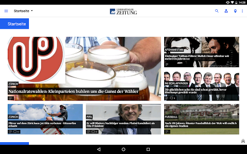 az Limmattaler Zeitung News screenshot 5