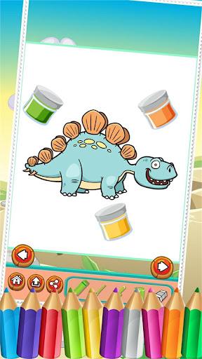 玩免費教育APP|下載恐龙Colorbook绘图 app不用錢|硬是要APP