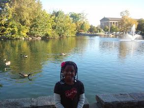 Photo: Kaleya at Centennial Park (10/2/11)