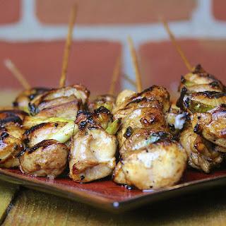 Grilled Chicken Yakitori