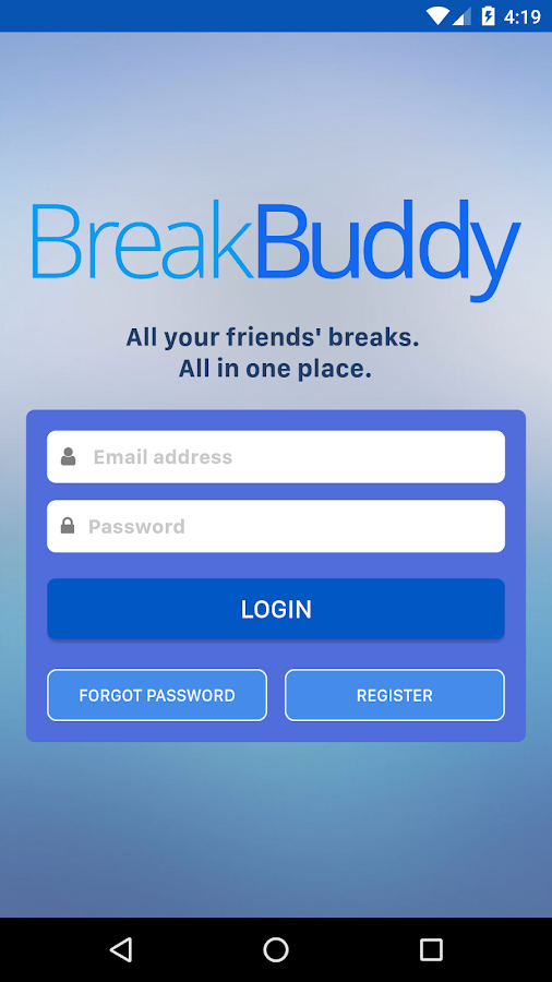 BreakBuddy- screenshot
