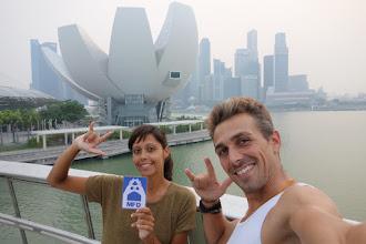 Photo: la MFD à Singapour