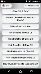 Benefits of Olive Oil for PC-Windows 7,8,10 and Mac apk screenshot 2