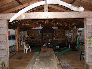 Photo: The mess hall in Namu.