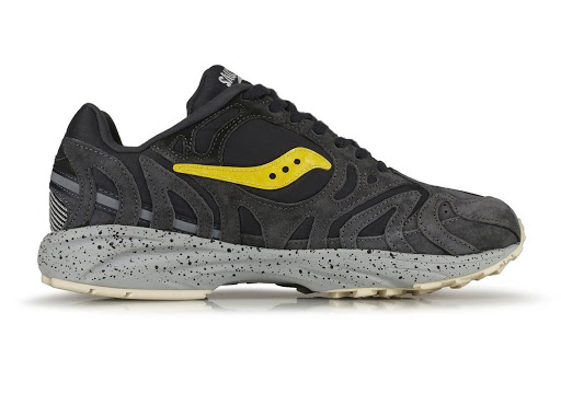 """The Saucony Grid Azura 2000 Appears In A Rocky """"Asphalt"""" Look"""