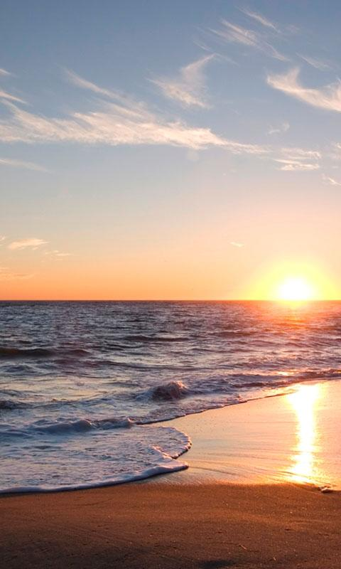 HD Beach Sunset Live Wallpaper Android Apps on Google Play