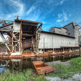 The Last Dredge by Syahidee Omar - Products & Objects Industrial Objects