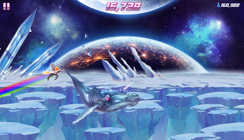 Robot Unicorn Attack 2 Screenshot 17