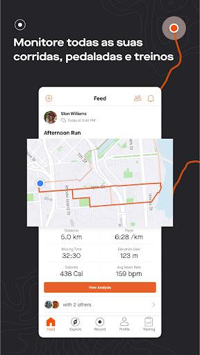 Strava: Correr, Pedalar e Monitorar o Treinamento Screen Shot