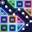 Bricks Breaker - Glow Balls apk