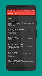 OnePlus Gestures — Gesture Control Screenshot