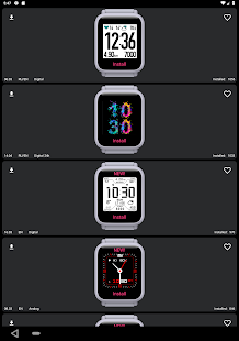 My WatchFace for Amazfit Bip Screenshot
