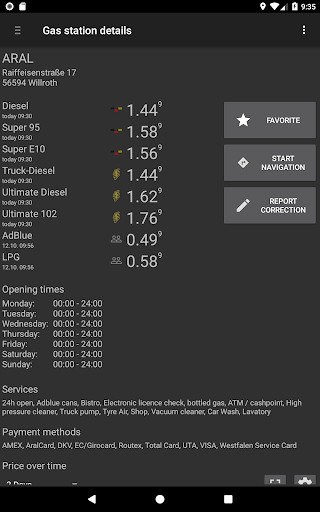 Fuel Flash screenshot 13