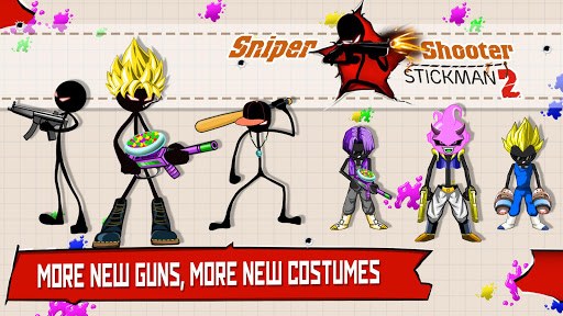 Sniper Shooter Stickman 2 Fury: Gun Shooting Games  {cheat|hack|gameplay|apk mod|resources generator} 1