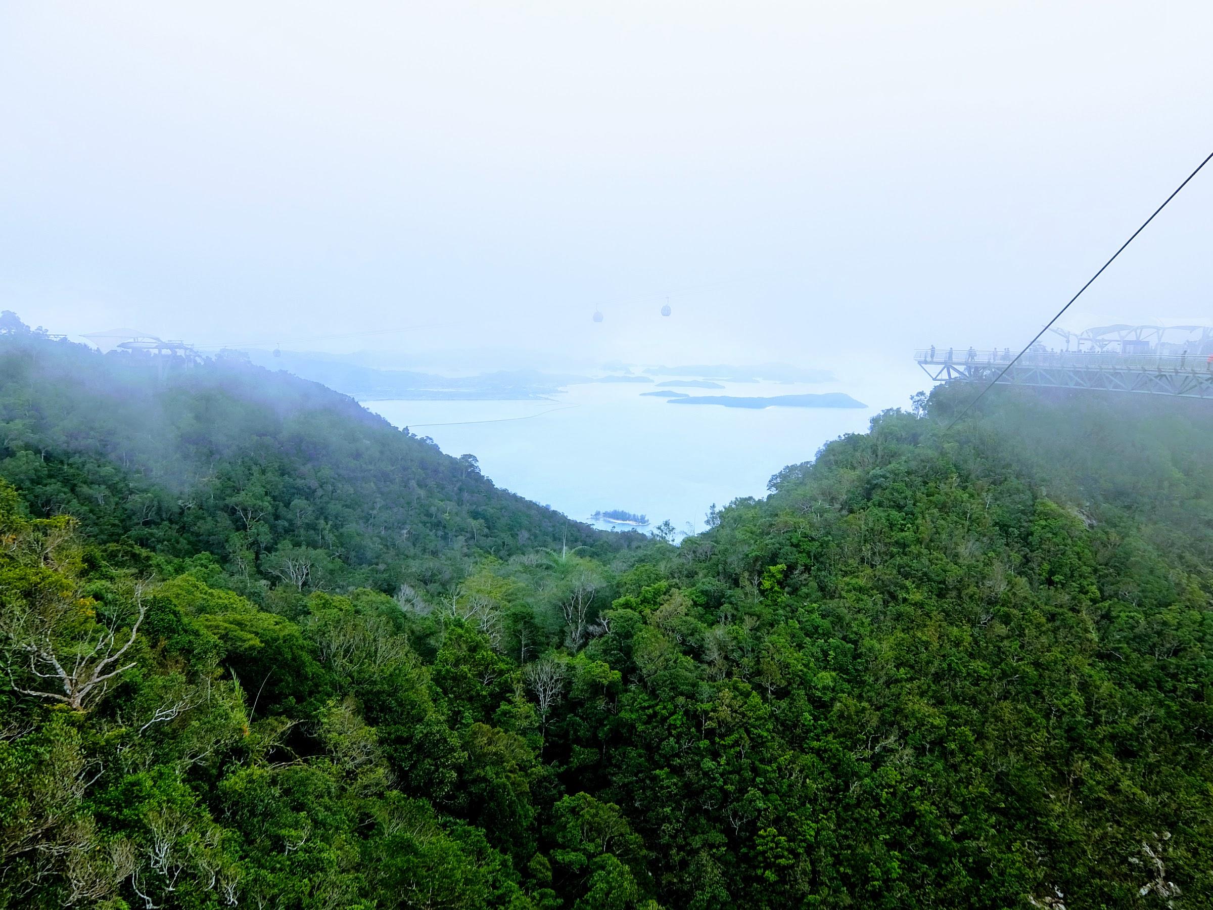 Andaman Sea from the Langkawi Skybridge