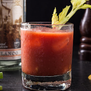 Extra-Spicy Bloody Maria.