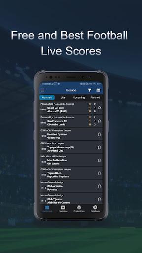 Goaloo Football Live Scores 1.2 screenshots 2