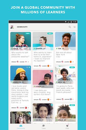 Tandem Language Exchange: Speak any language 1.7.7 screenshots 13