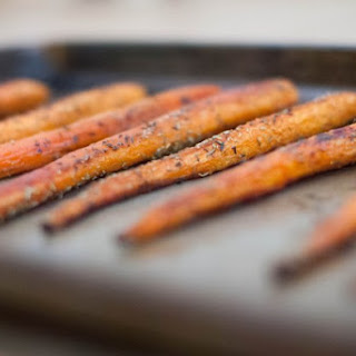 Honey Balsamic Roasted Carrots (AIP).