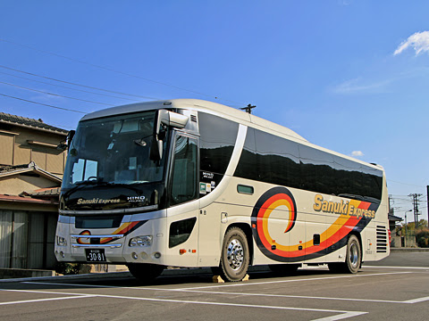 四国高速バス「さぬきエクスプレス福岡号」 3081_101