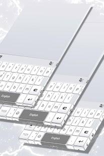 White Keys for Redraw Keyboard - náhled