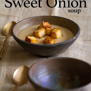 Caramelized Sweet Onion Soup