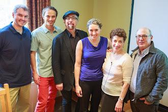 Photo: From L to R: Matthew Slater, Jason Leddington, Jamy Ian Swiss, Joanna Huxster, Naomi Oreskes, Robert Kenner