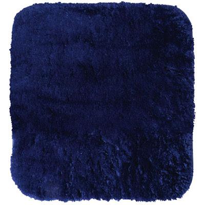 Коврик для ванной комнаты Ridder Chic синий 55х50 см