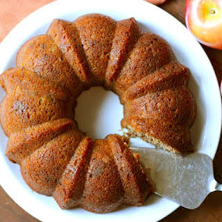 Moist and Delicious Apple Cake.