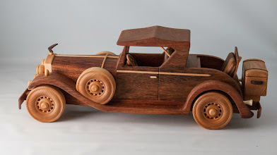 "Photo: Allan Star 16"" 1931 Cadillac Roadster [jatoba]"