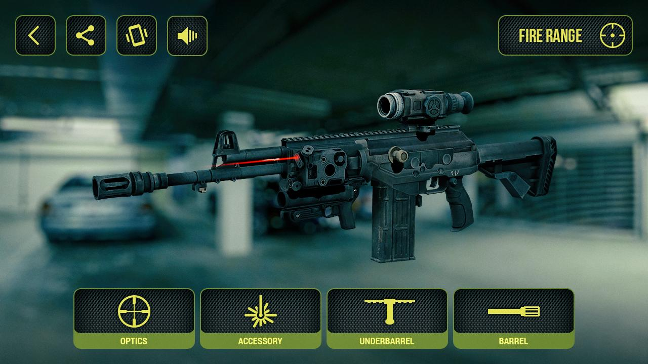 Screenshots of Weapons Builder Simulator for iPhone