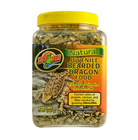 ZooMed Natural Juvenile Bearded Dragon Food 283g