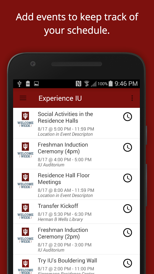 Experience IU- screenshot