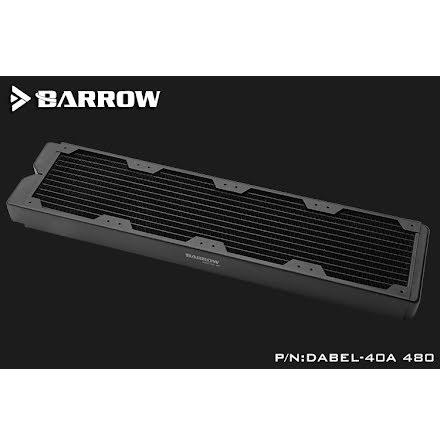 Barrow Dabel-A radiator, 480, 4x120-40
