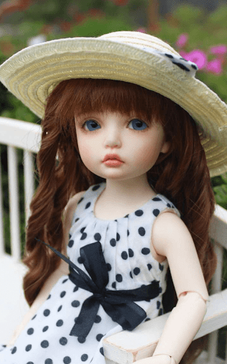 ... Sweet doll Wallpaper HD screenshot 3 ...