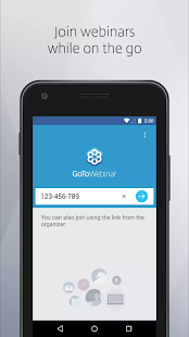 GoToWebinar - náhled