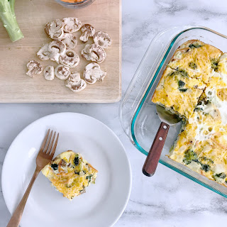 Brunch Egg & Veggie Casserole Recipe