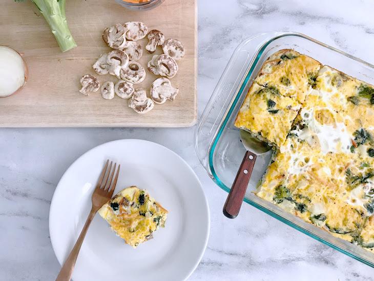 Brunch Egg & Veggie Casserole Recipe