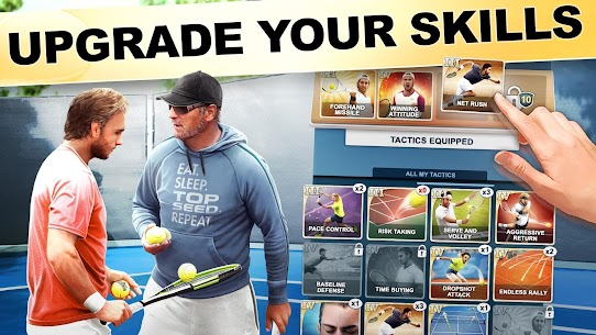 TOP SEED Tennis Sports Management Simulation Game 2.45.3 Mod (Unlimited Gold) 2