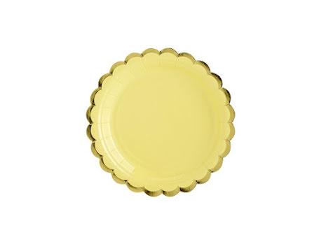 Assietter - Gul & Guld